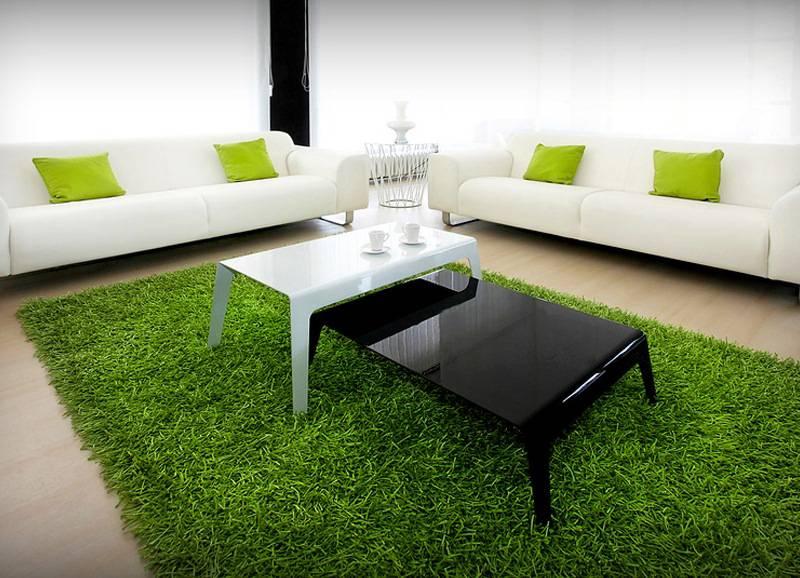 Штучна трава в інтер'єрі