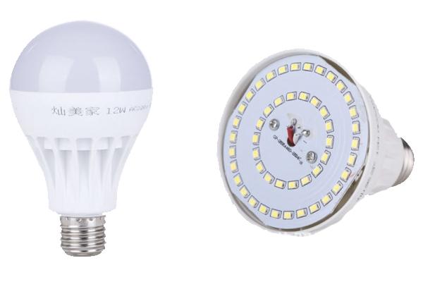 Лампа LED 9w